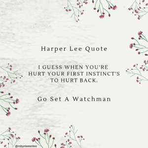 Harper Lee Go Set Watchman Quote